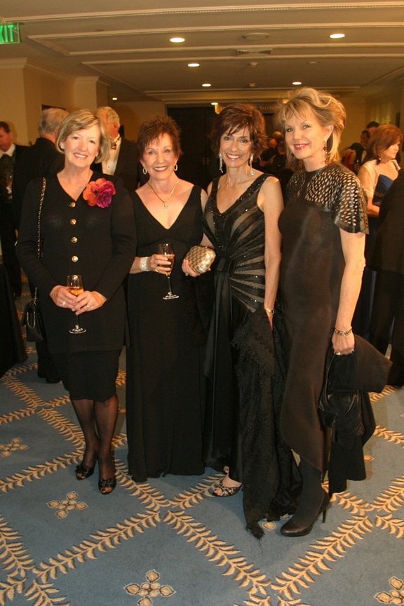 Becky Clelland, Dede Carlson, Joyce Gattas and Jordan.JPG