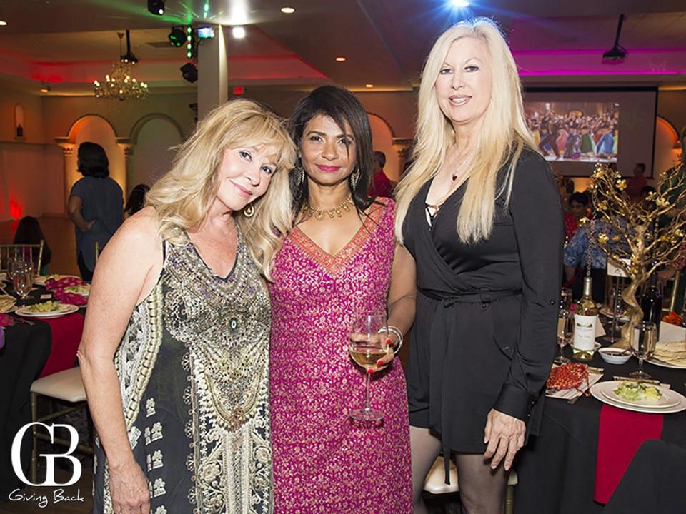 Becky Robbins  Jai Varadaraj and Eileen Ciarft