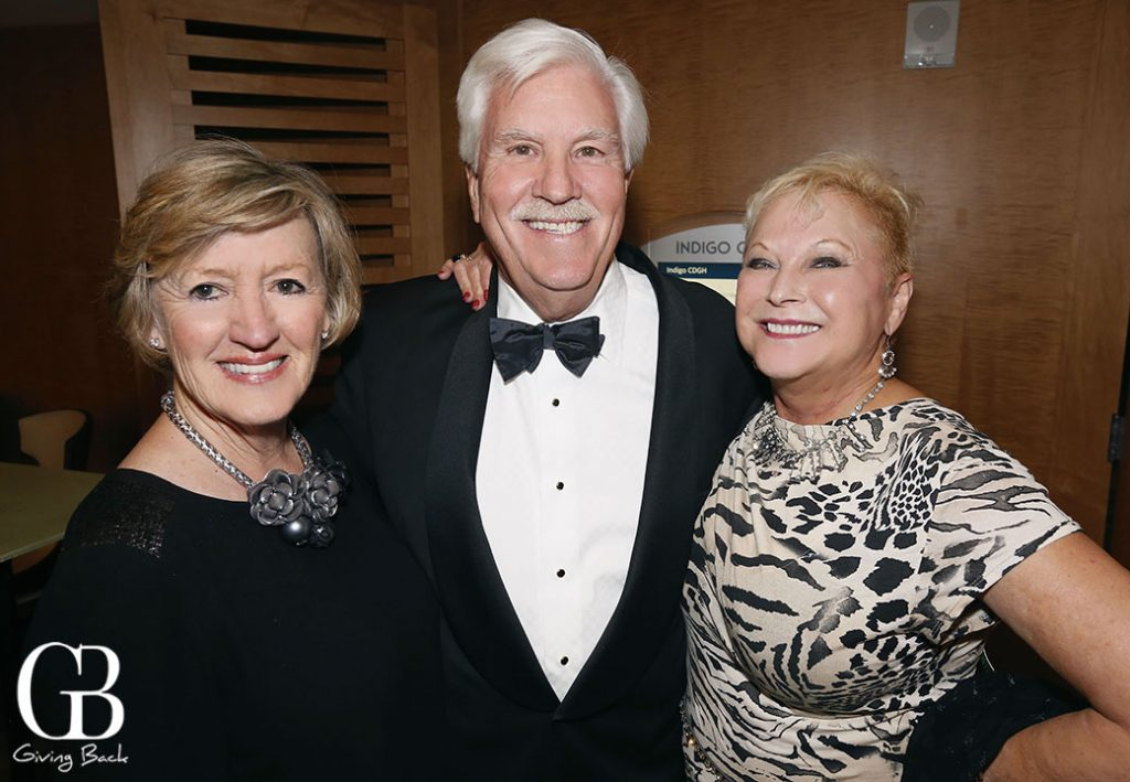 Becky and Bob Clelland with Patricia Baetz