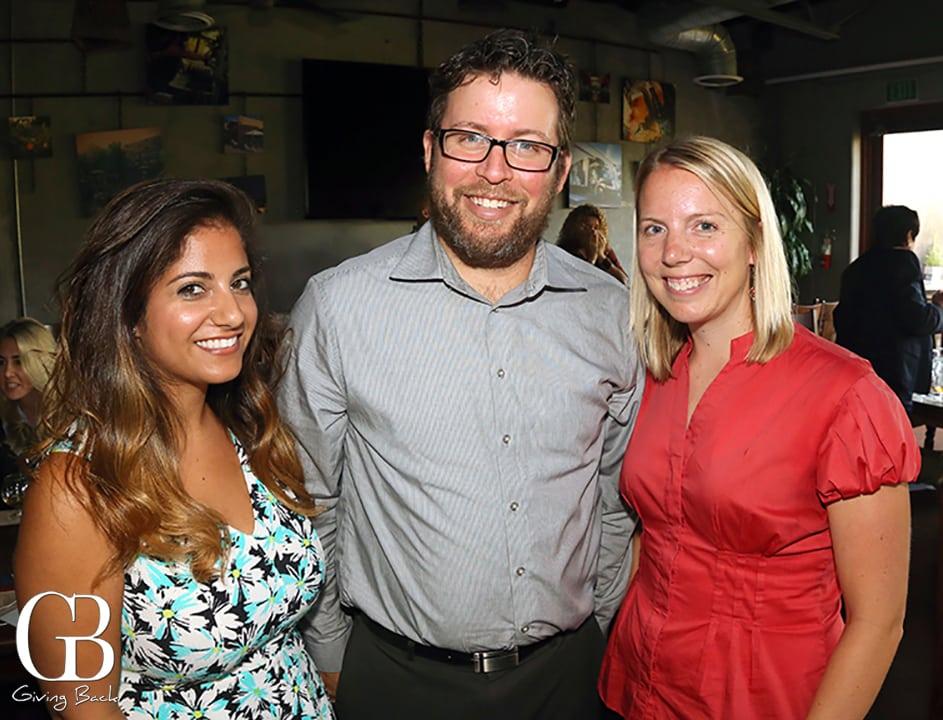 Beeta Jahedi  Daren Schwartz and Amanda Lasik