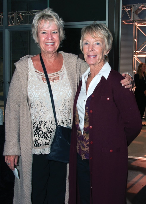 Belinda Brown and Babette Kelly
