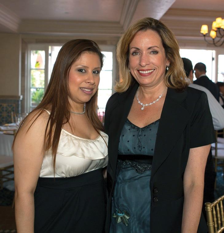 Belinda Ramos and Debbie Molnar