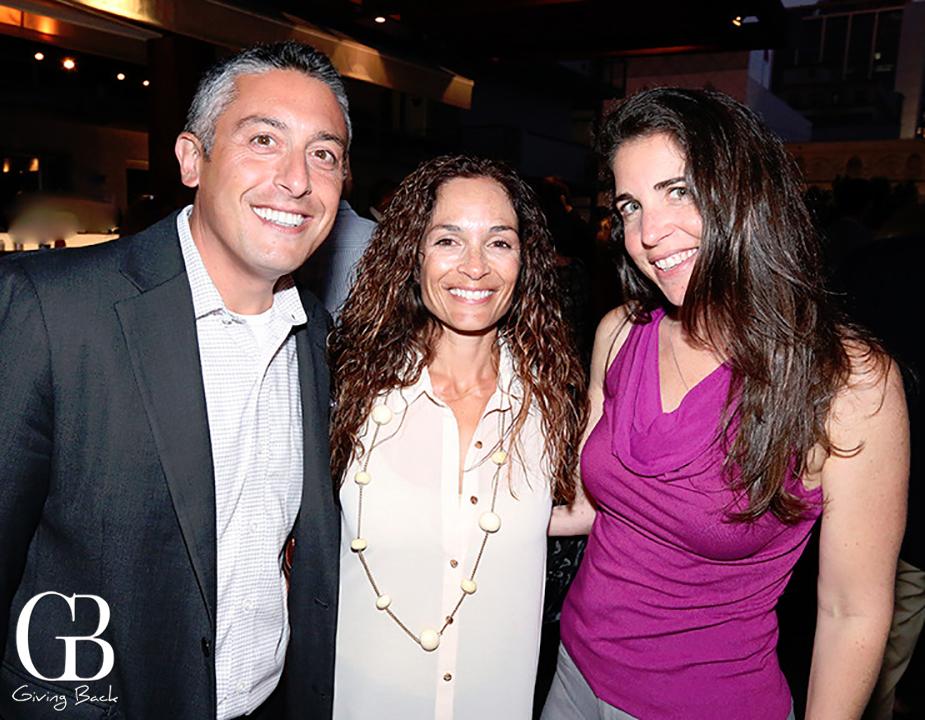 Beni and Jackie  Surpin with Sharon Benedek