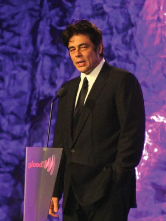 Benicio Del Toro presenting at the GLAAD Awards .JPG