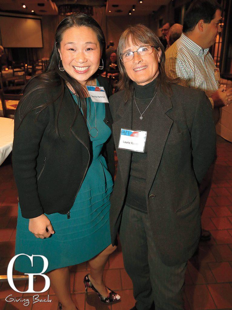 Benita Hartman and Laurie Roeder