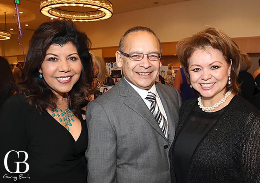 Berenice Zamaro with Ted and Lidia S. Martinez