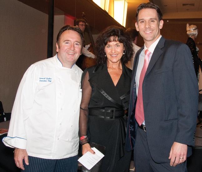 Bernard Guillas, Pamela Howe and Derek Togerson