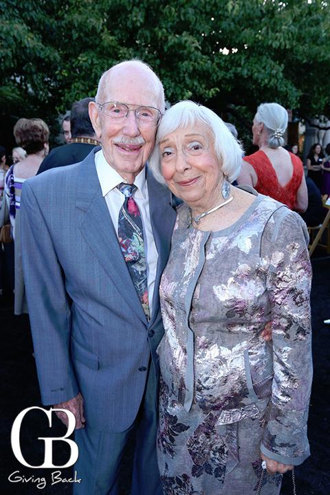 Bernard Eggertsen and Florence Nemkov