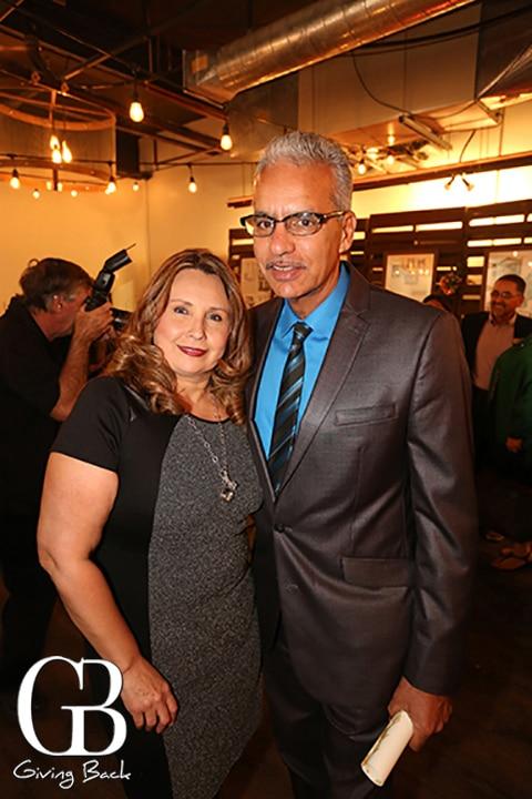 Berta Tiznado and Michael Brunker