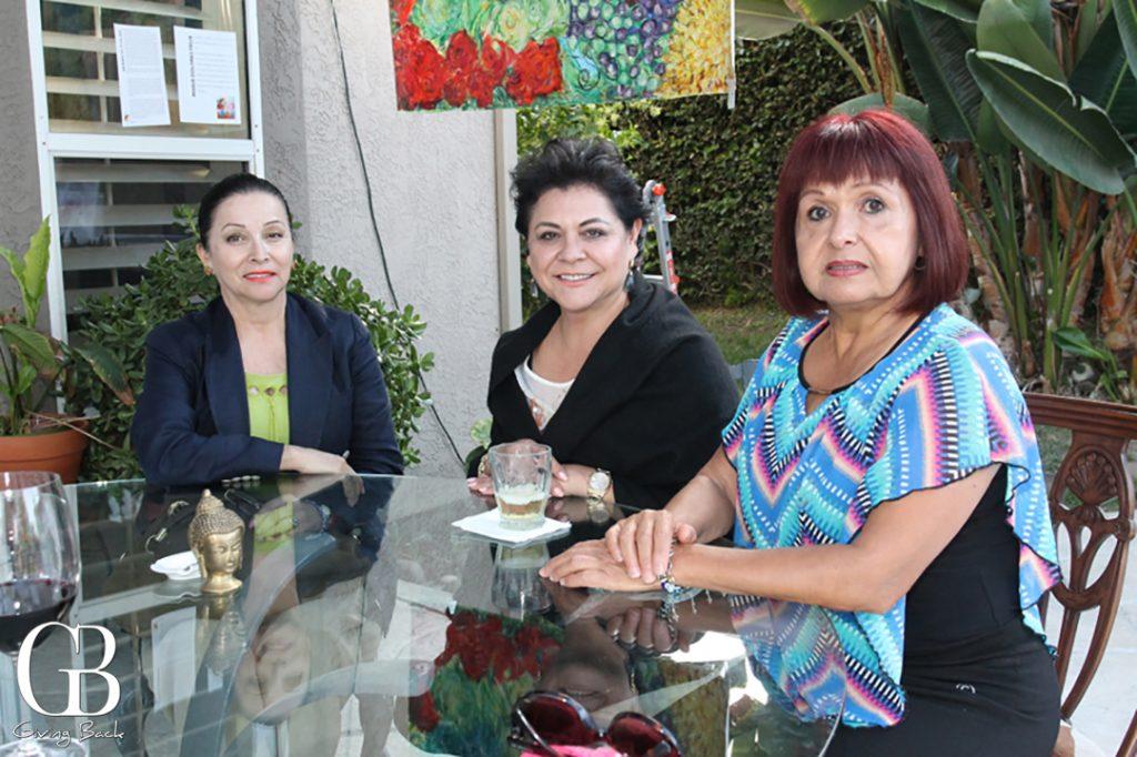 Berta de Tabares  Marta Vidal y Maria Antonieta Soriano