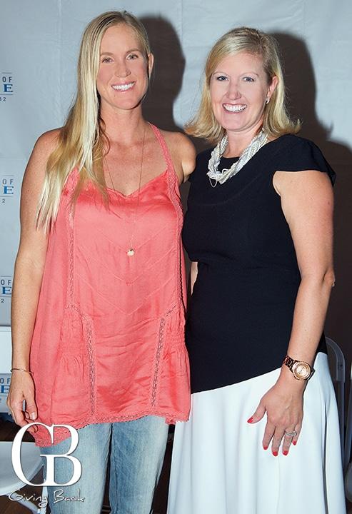 Bethany Hamilton and Lauren Lek