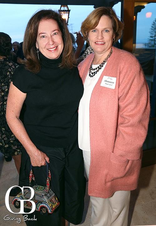 Betsy Franklin and Shannon Mulvihill