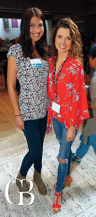 Bettina Lehman and Dorothea Portius