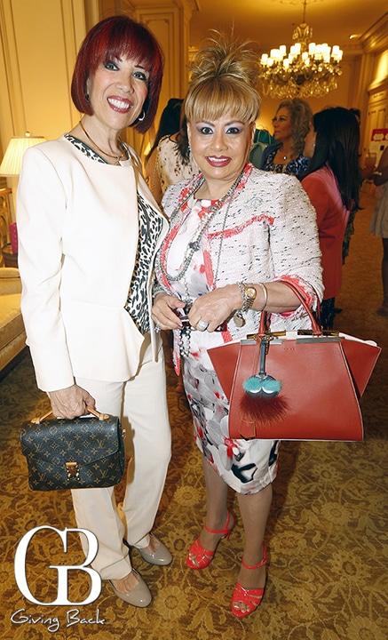 Betty Lombrozo and Ana Berta Bracamontes