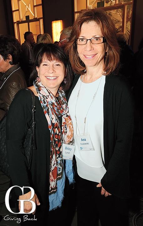 Betzy Lynch and Ana Kozlowski