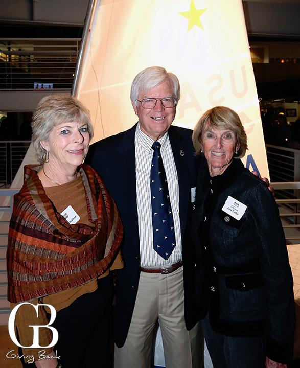Bev Fritschner with Tom and Jane Fetter