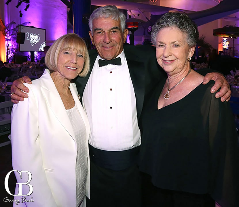 Beverly and Michael Wash with Valerie Anders