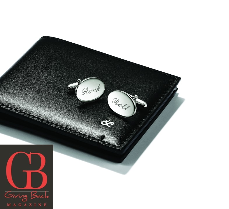 Bifold Wallet and Tiffany Classic Oval Cuff Links