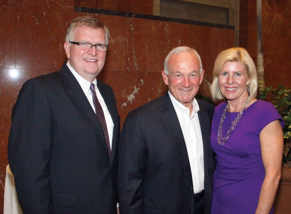 Bill Smith, Mayor Jerry Sanders and Maggie Watkins.JPG