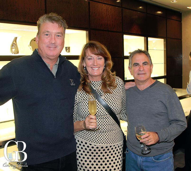 Bill Neumann with Ann and Steven Wendroff