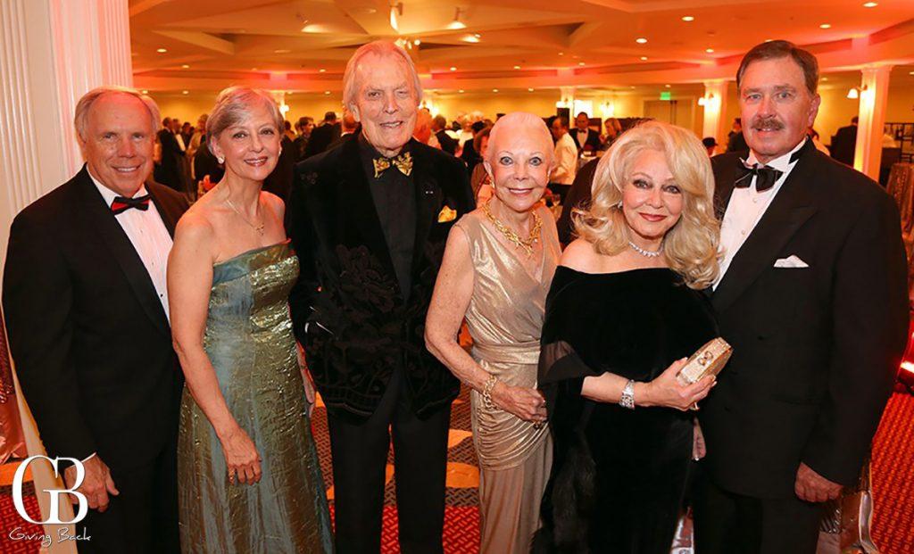 Blair and Georgia Sadler  Don Breitenberg  Jeanne Jones with Phyllis and John Parrish