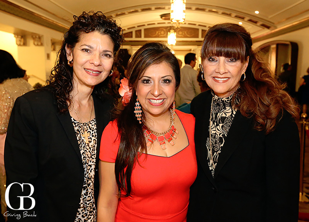 Blanca Lemus  Silvia Lugo and Sandi Smith