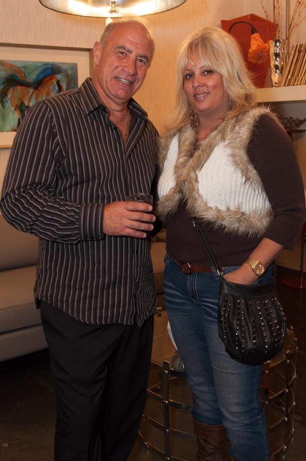 Bob Sole and Lizie Delgado