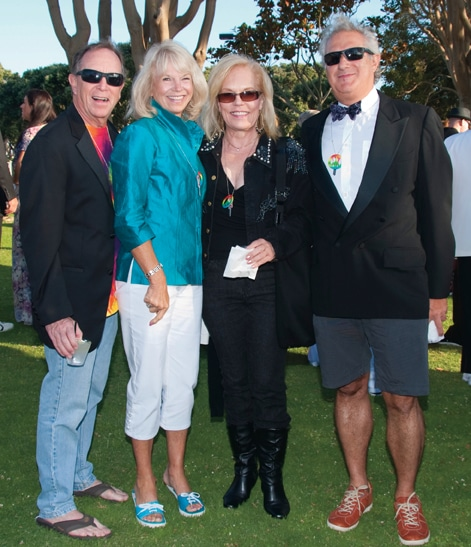Bob and Debi Kelly with Julie Meyer Wright and Juan Martinez