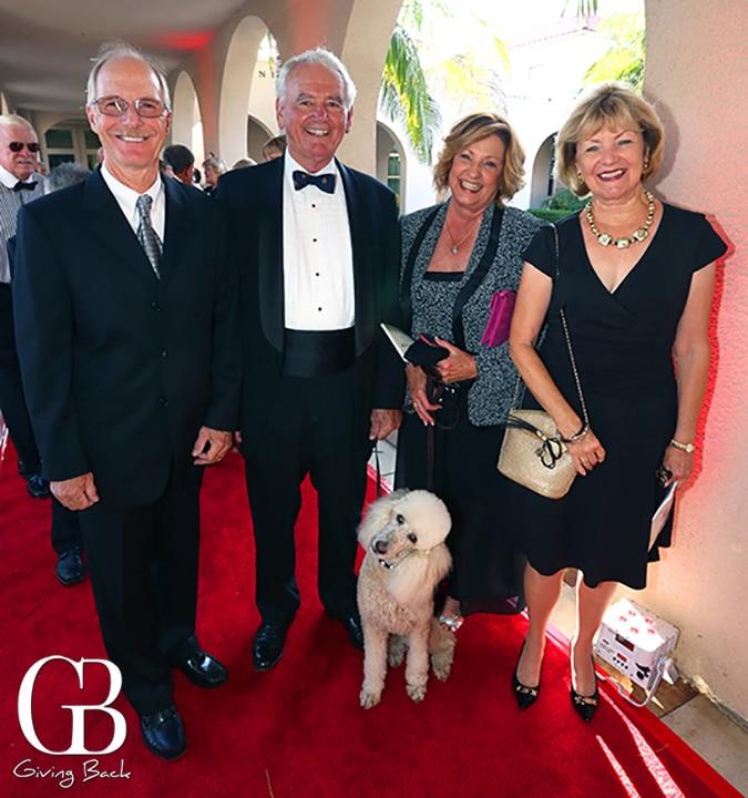 Bob Esch  Jim and Nell Bartlett  Sarah Esch with Pearl