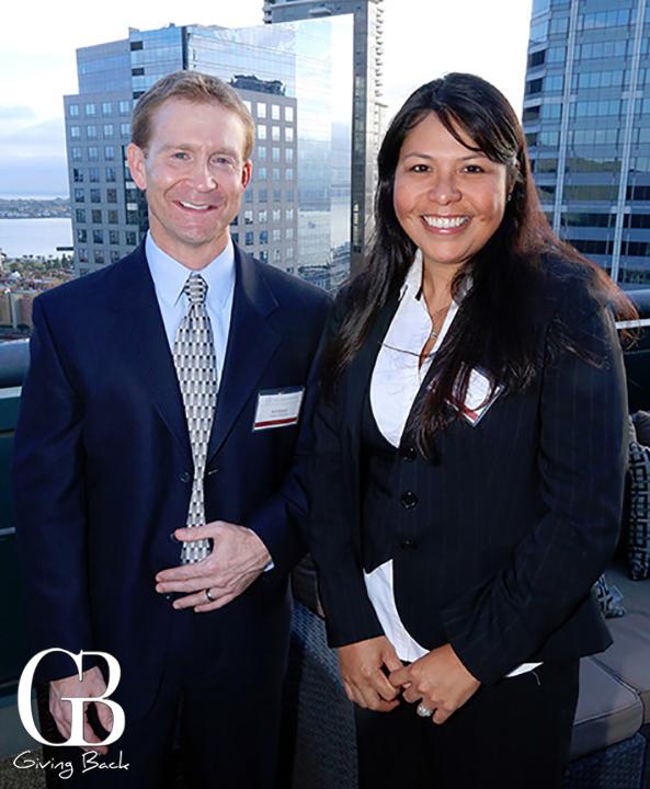 Bob Knaier and Valerie Torres