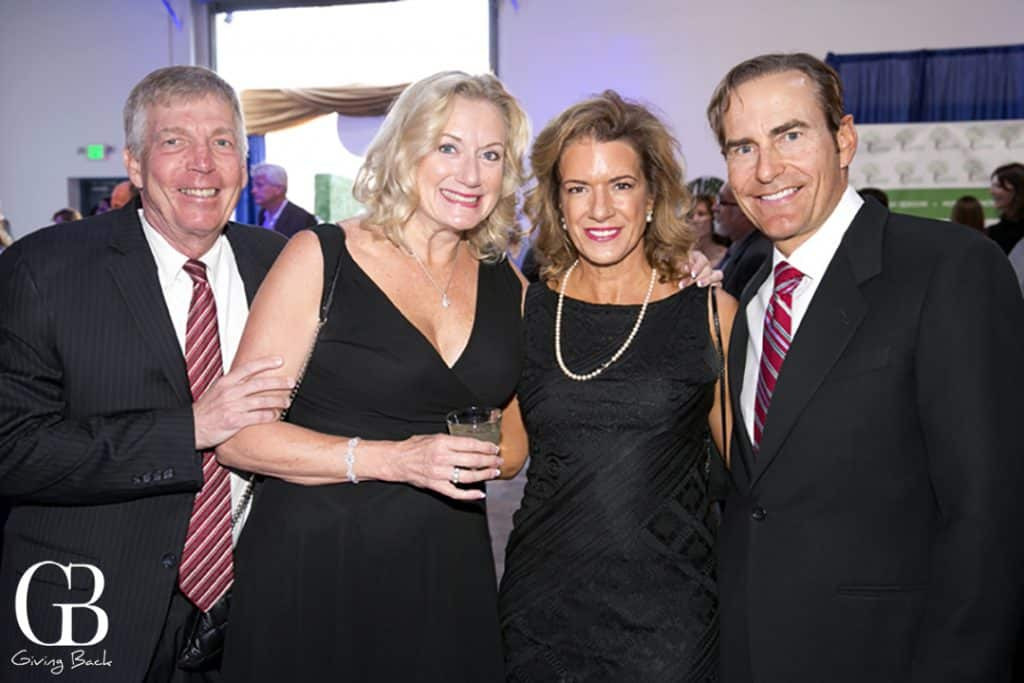 Bob and Jeannie Bolinger with Cathleen and Colin Haggerty