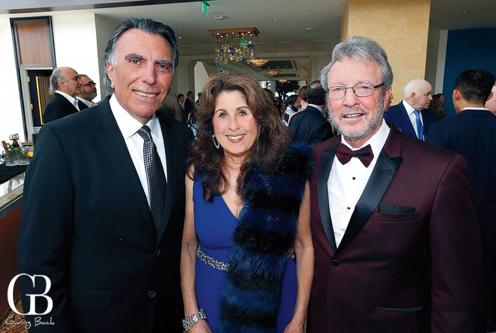 Bob and Melina Petrossian with Perry Dealy