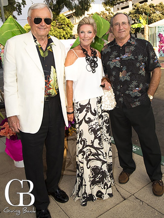 Bob and Pat Lau with Gregory Graziano