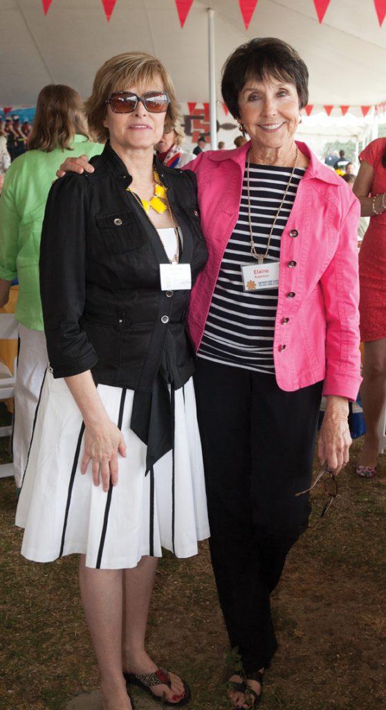 Bonnie Garrett and Elaine Robinson