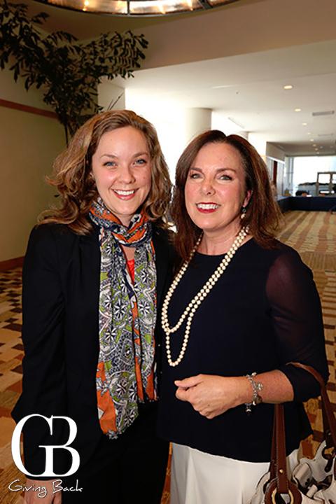 Bonnie Broberg and Elaine Murphy