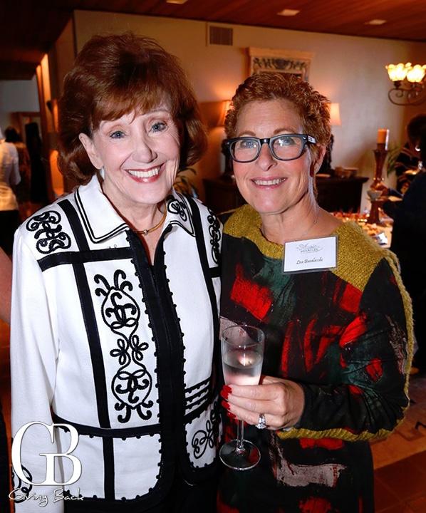 Bonnie Hage and Lisa Busalacchi