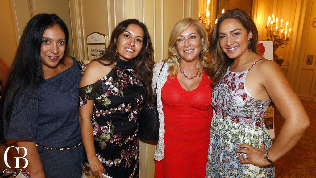 Bonnie Jones  Angie Fenton  Jennifer Ranglas and Raquel Chaitas
