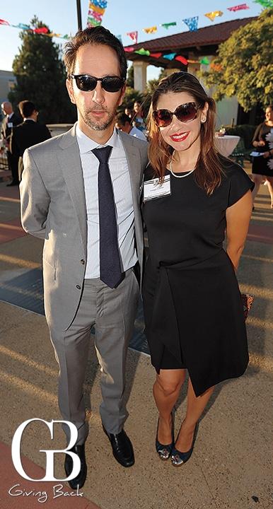 Bosco Lujan and Monique Casellas