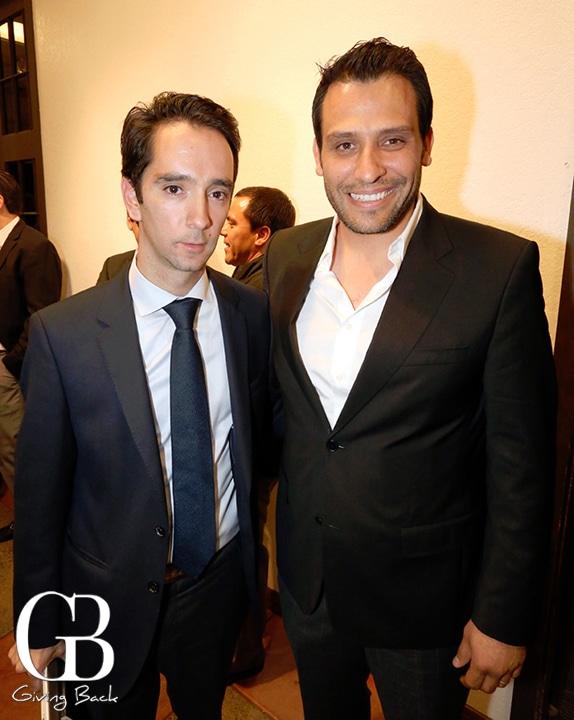 Bosco Lujan y Javier Garay