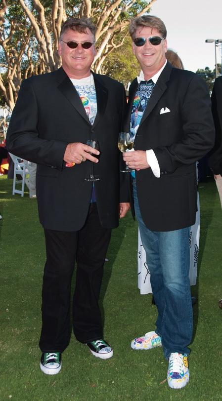 Brad Woodford and Jim Lennox