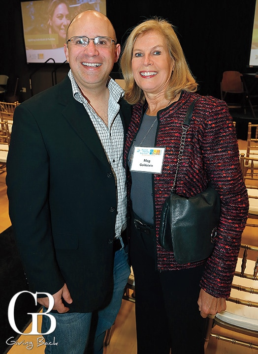 Brad Slavin and Meg Goldstein
