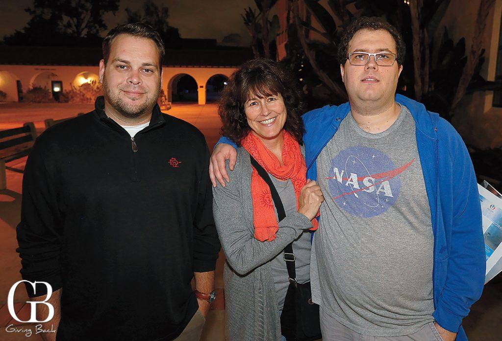 Brandan Kelly with Jo and Elias Arazi