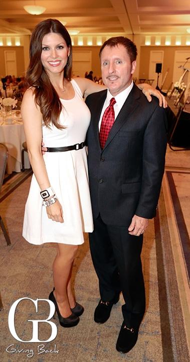 Brandi Williams and Vince Heald