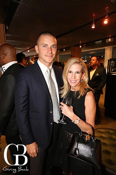 Brandon Skinner and Marisa Vallbona