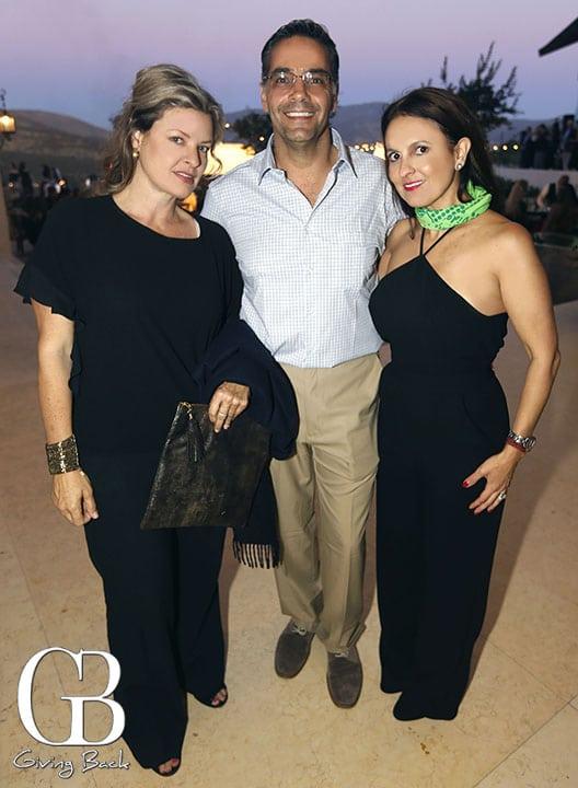Brenda Gold  Elias Levy y Viviana Mayer