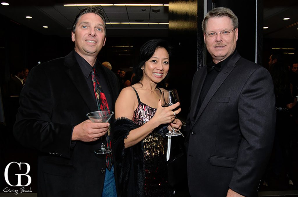 Brent and Linella Batali with Jeff Anderson
