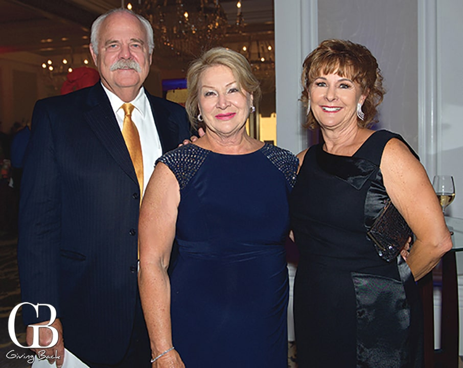 Brent and Lora Heramb with Yvonne Bloom