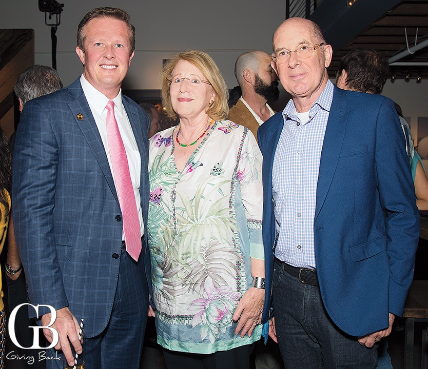 Brian Epperson with Sandra and David Lee