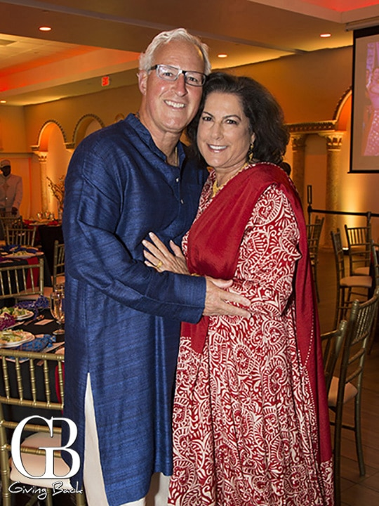 Brian Hilliard and Arielle Ford