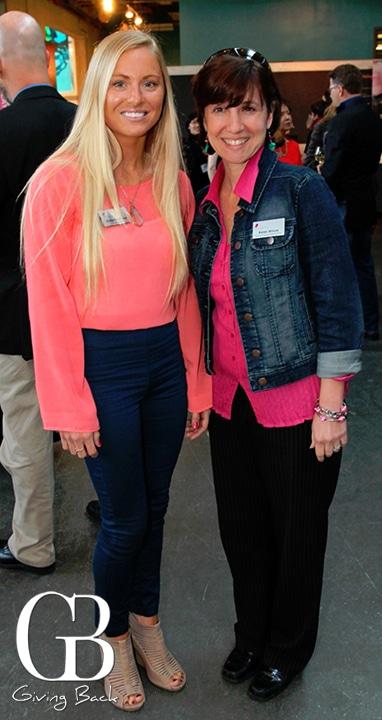 Bridget Johnson and Karen Wilcox